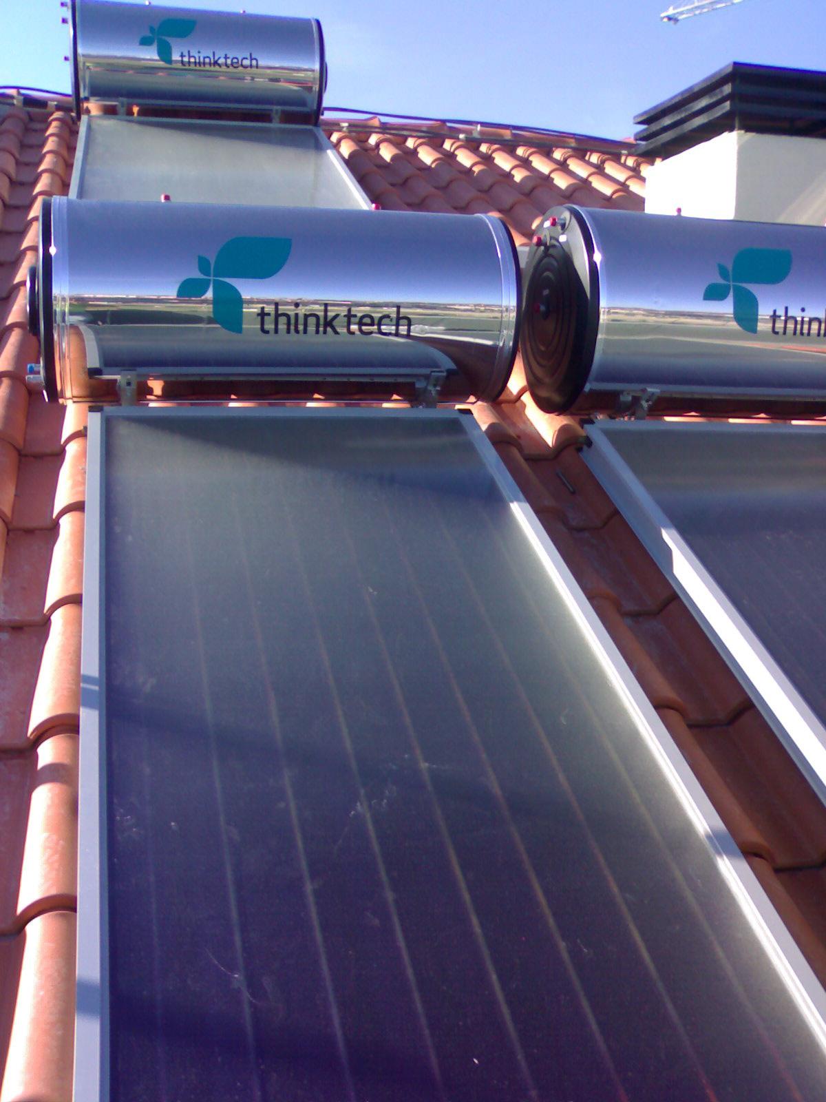 Instalação Solar Térmico em Prédio - Viseu