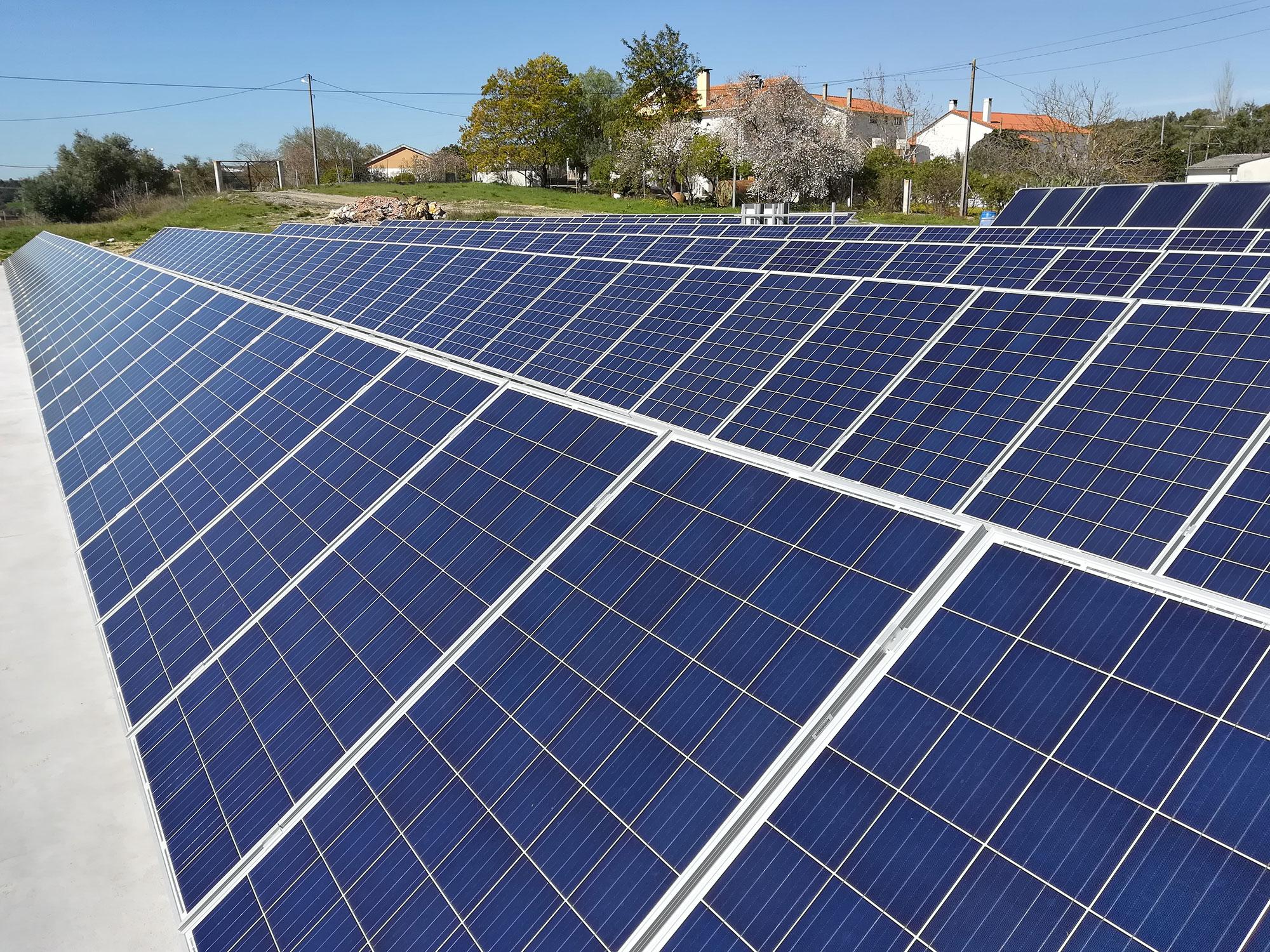 Instalação Fotovoltaica em CBESA - Alcanena